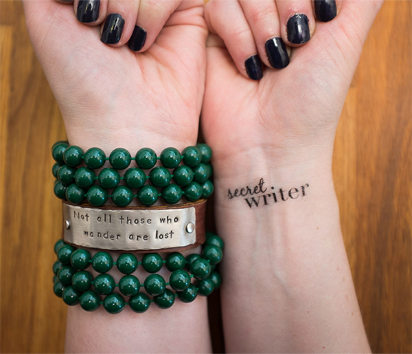 Messages on Wrists