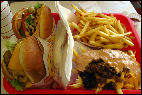 Visit to In-N-Out Burger - Oct. 19, 2012