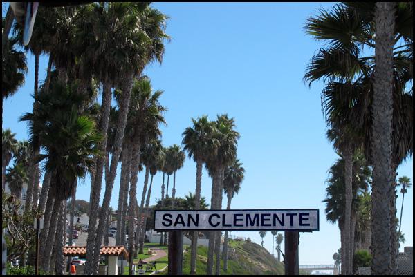 San Clemente Train Sign